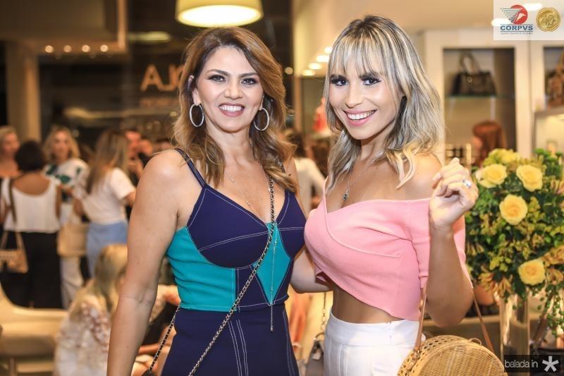 Surama Gelelilate e Grazi Nogueira