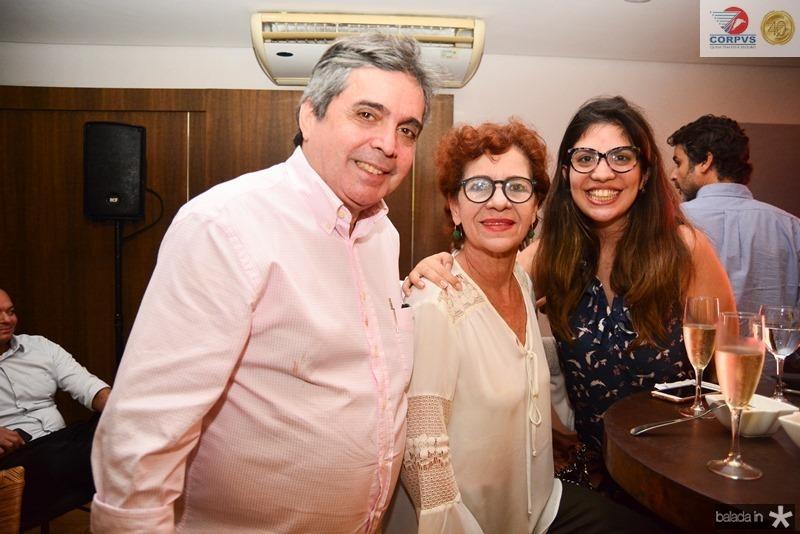 Totonho Laprovitera, Lilian Quindere e Bia Wolf