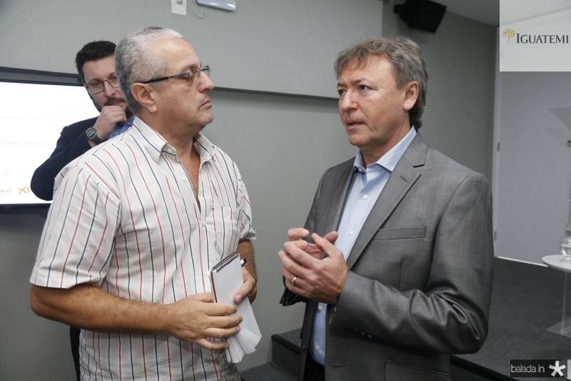 Marcelo Cabral e Mauricio Filizola