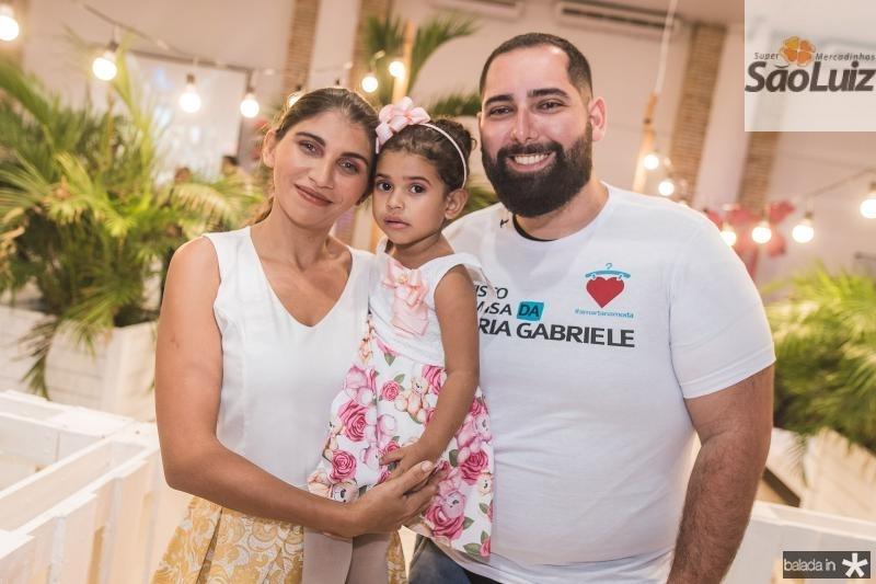 Sammya Aline, Votiroria Gabriele e Luiz Victor Torres