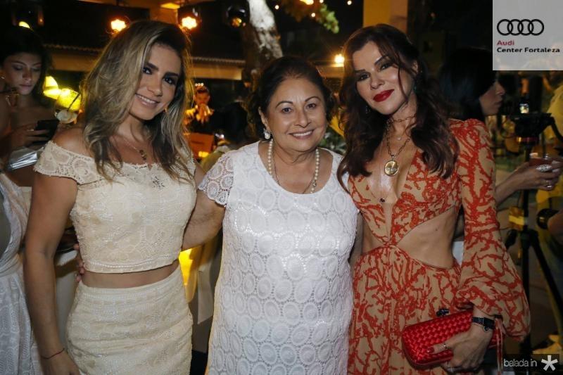 Jaqueline Maia, Auridea Guauberto e Zildina Pessoa