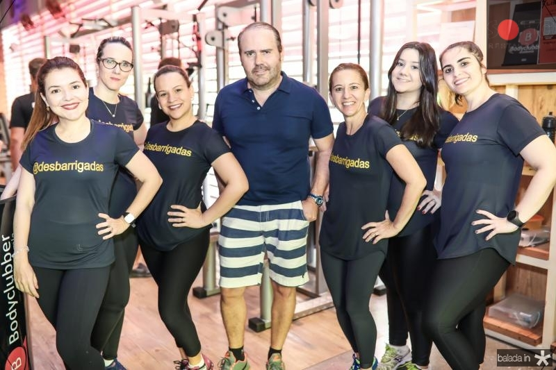 Karisia Pontes, Thais Gondim, Michele Santana, Roberto Pamplona, Germana Mendes, Isabel Paixao e Germana Dantas