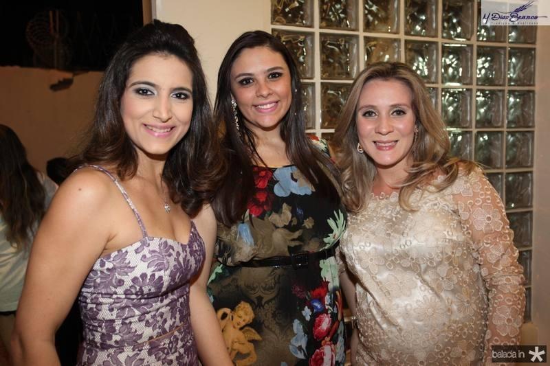 Camila Rodrigues, Ticiane Bezerra e Olga Saraiva