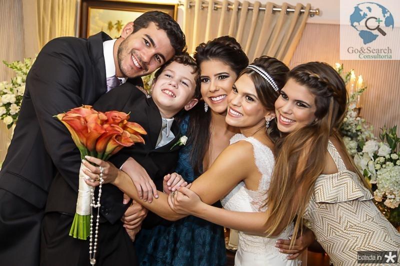 Felipe, Fred, Marcela, Mariana e Julia Pinto