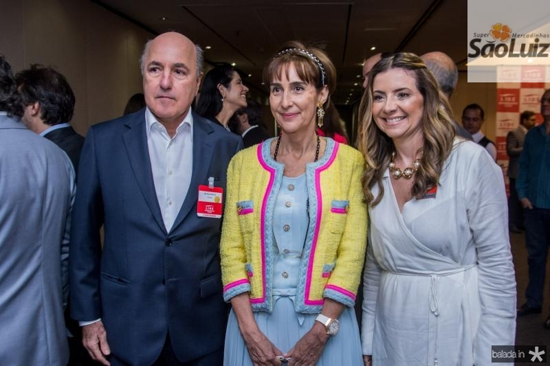 Silvio Frota, Viviane Senna e Emilia Buarque