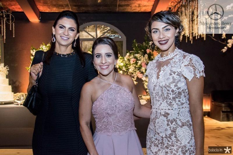 Roseli Roschmann, Luana Rios e Samara Batista