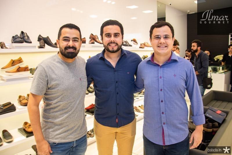 Caio Albuquerque, Rodrigo Nobrega e Rodrigo Melo