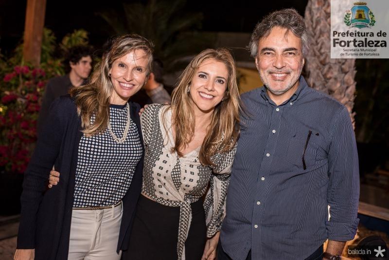 Veronica Picanco, Eliziane Colares e Paulo Angelim
