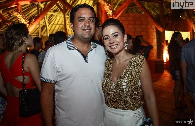 Rodrigo e Claudiana Loureiro