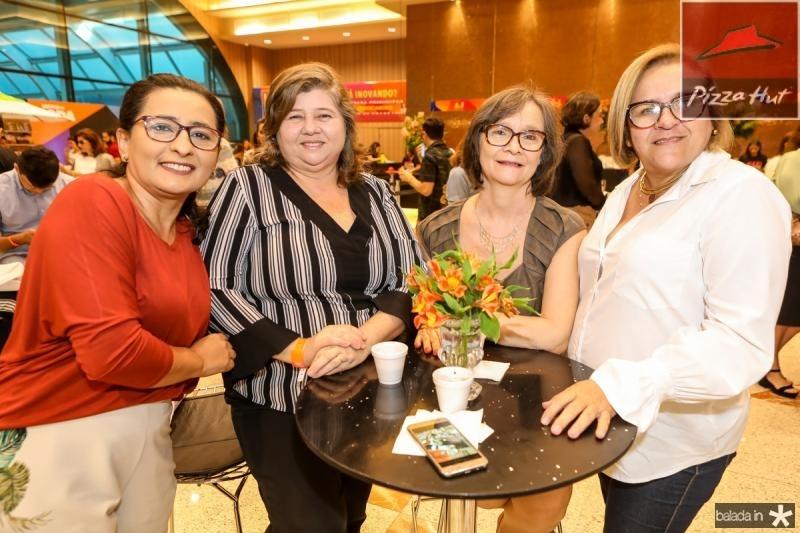 Magda Guedes, Emiliana Freitas, Lindi Marcia e Beth Malveira