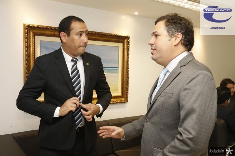 Renan Colares e Samuel Dias