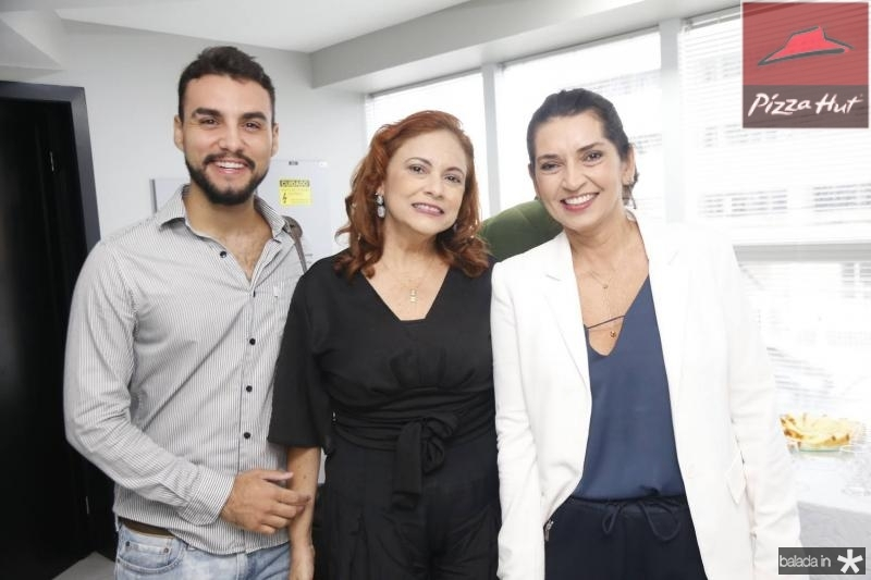 Bruno Calaca, Carla Pinto e Marcia Travessoni