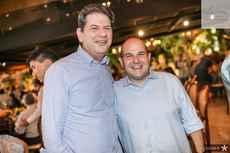 Cid Gomes e Roberto Claudio