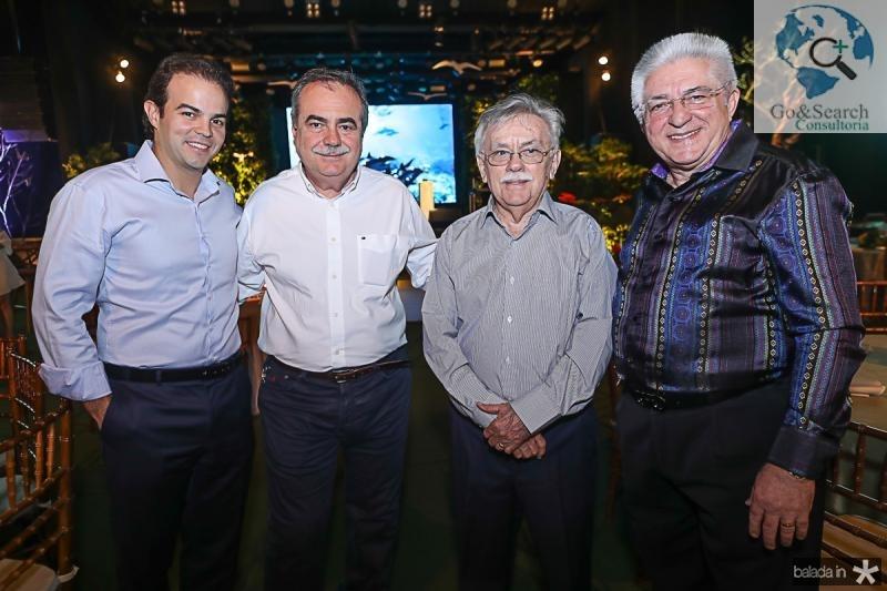 Drausio Barros Leal, Assis Cavalcante e Deusmar Queiros