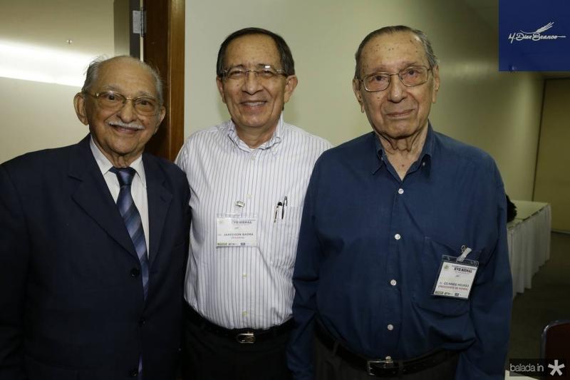 Thomaz Figueiredo, Janedson Bayma e Gilmario Mourao