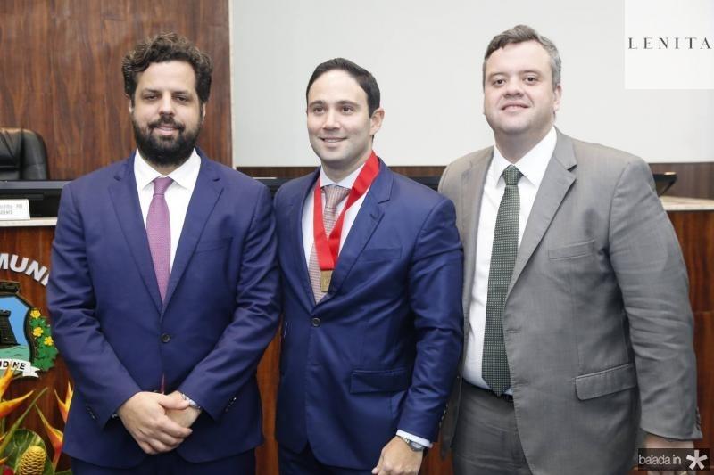 Cassio Pacheco, Thiago Asfor e Leonerdo Vasconcelos