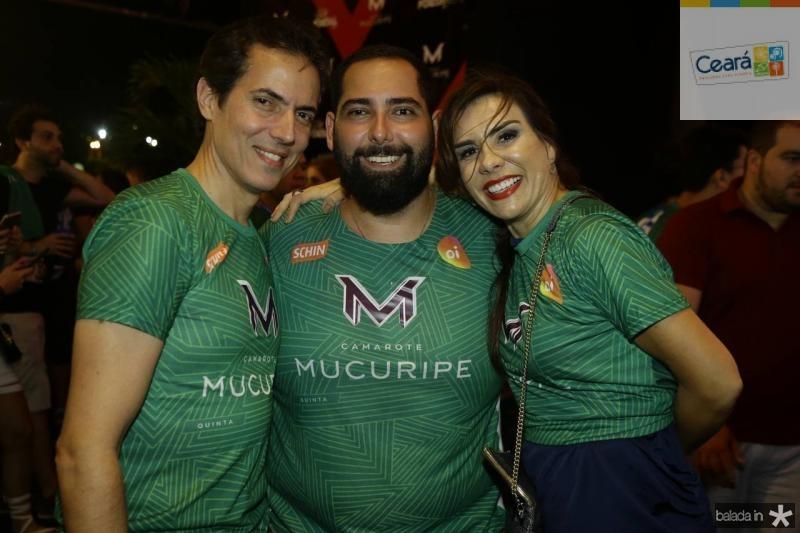 Leo Alcantara, Luiz Victor e Ana Alcantara