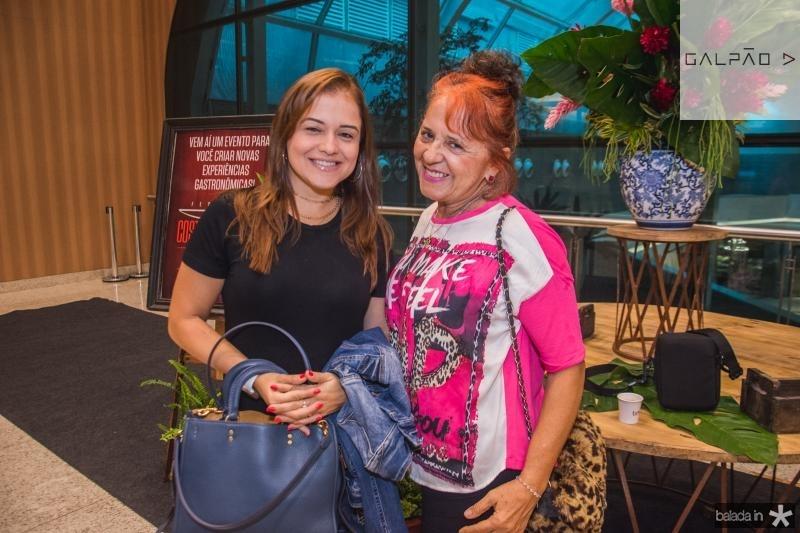 Vivian Duarte e Fatima Duarte