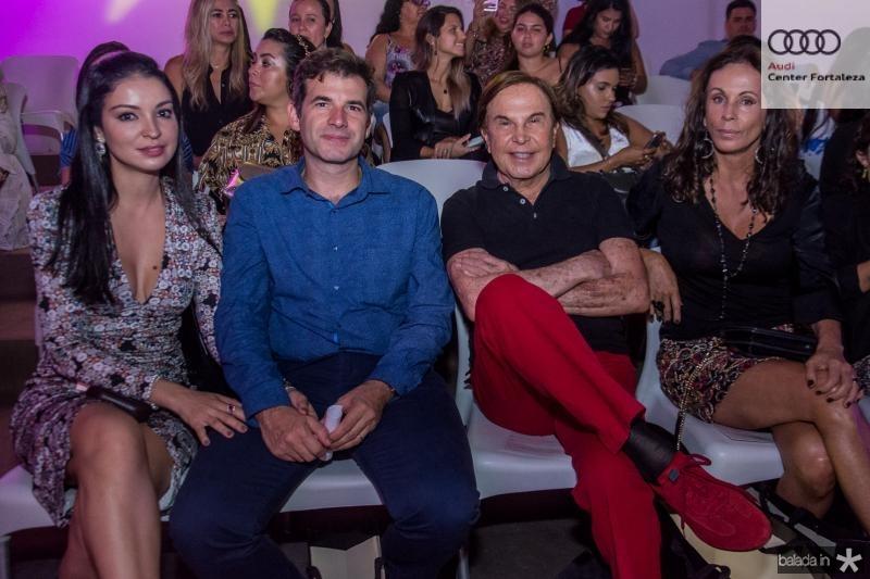 Hilca Franck, Germano Franck, Lazaro Medeiros e Claudia Carvalho