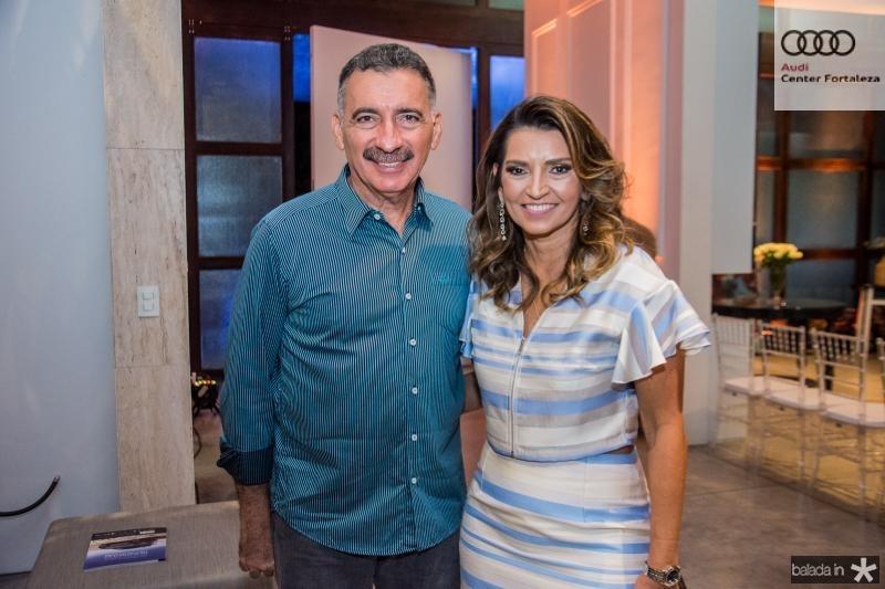 Artur Bruno e Márcia Travessoni