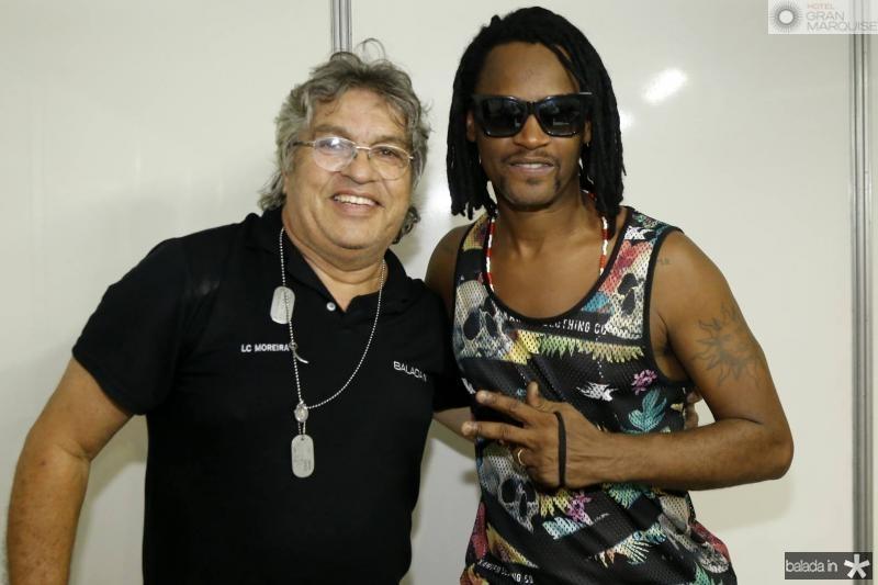 LC Moreira e Tony Garrido