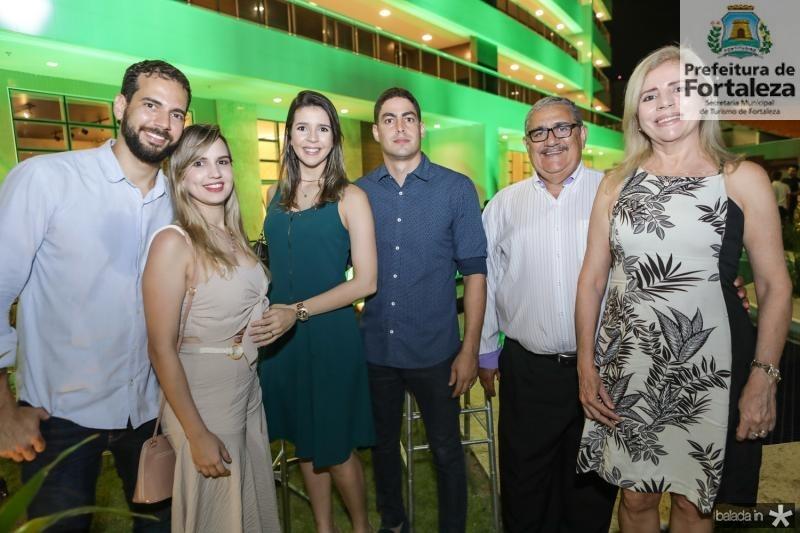 Rene Pinheiro, Bruna Macedo, Raissa, Gleidson, Gleidson e Nilzete Pinheiro