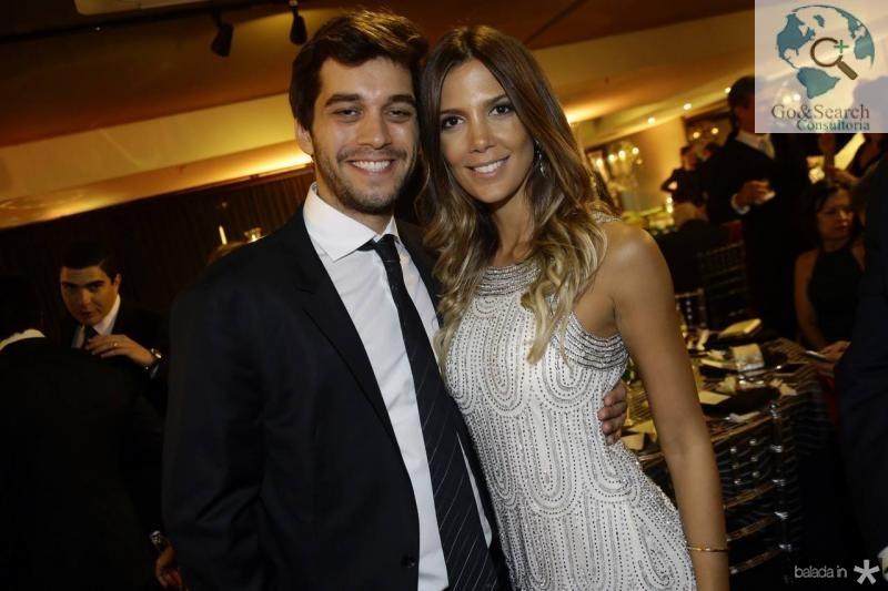 Rodrigo Ozi e Camila Militao