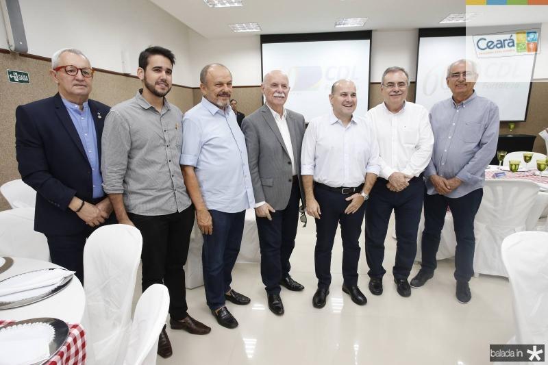 Lourenco da Mata, Cabral Neto, Honorio Pinheiro, Freitas Cordeiro, Roberto Claudio, Assis Cavalcante e Bosco Macedo