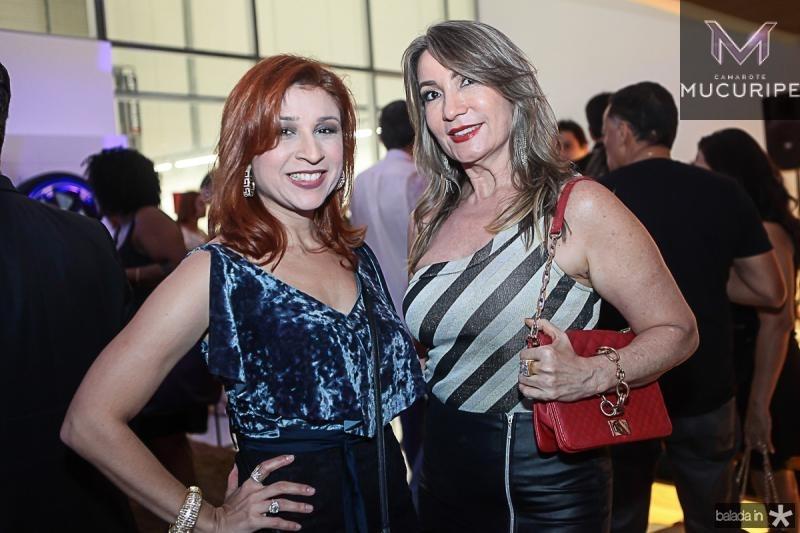 Patricia Porto e Regiane Rodrigues