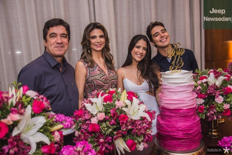 Paulo, Rachel, Bia e Davi Teixeira