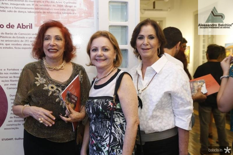 Vania Dummar, Lurdinha e Olga Leite Barbosa