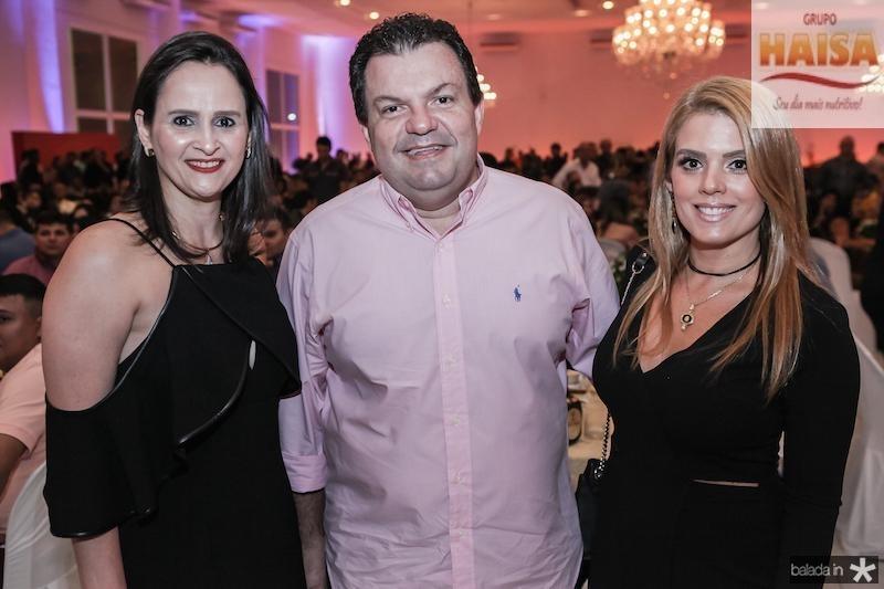 Adriana Miranda, Fernando Ferrer e Leticia Studart