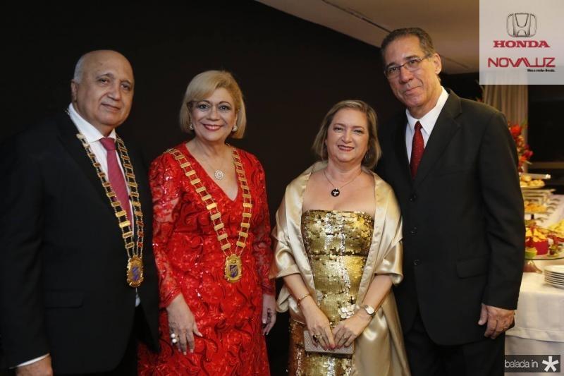 Epitacio Vasconcelos, Priscila Cavalcante, Iane Bessa e Arnaldo Menezes
