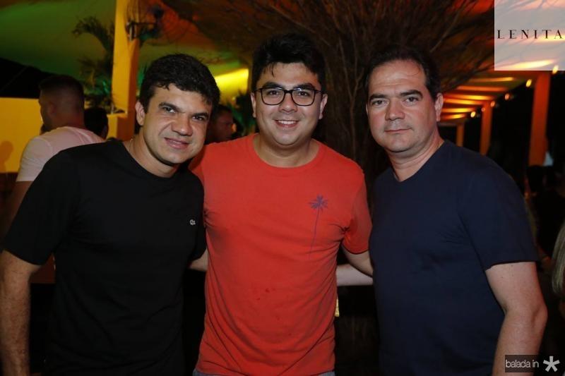 Marcelo Braga, Rolff Campos e Gontijo Pinto