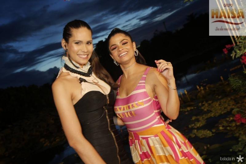 Jade Oliveira e Isabelle timoteo