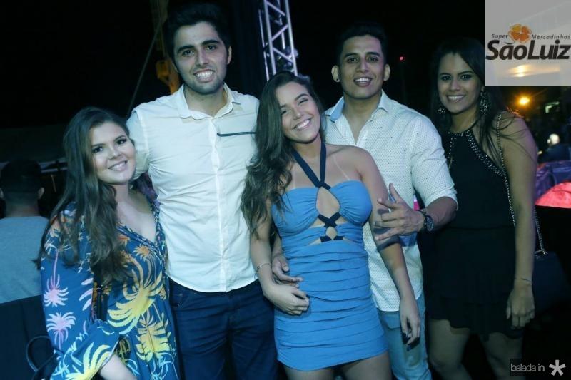 Lia Negrao, Marcelo Moreira, Barbara Fernandes, Cristian Andre e Andrea Garcia