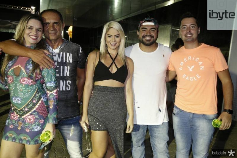 Everlania e Ribamar Freitas Elania Fernandes, Carlos Filho e Ricardo Vasconcelos