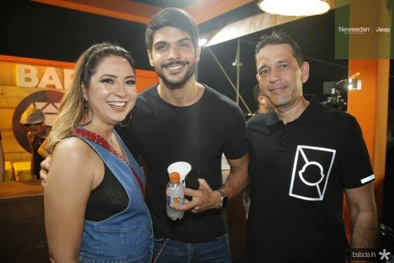 Marcela Camurca, Lucas Fernbandes e Andre Camurca