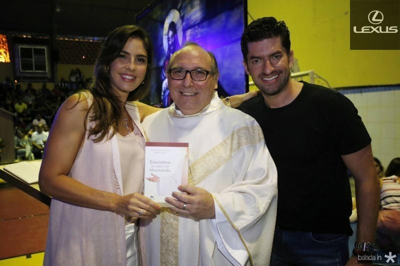 Merilia Fiuza, Padre Eugenio Pacelli e Paulo Benevides