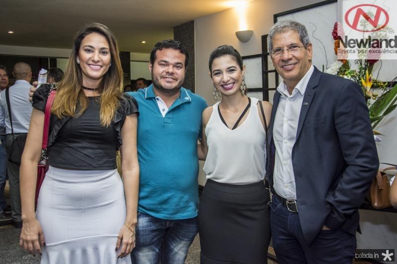 Rafaela Santiago, Demetrio Jorge Vieira, Jamila Araujo e Severino Ramalho Neto