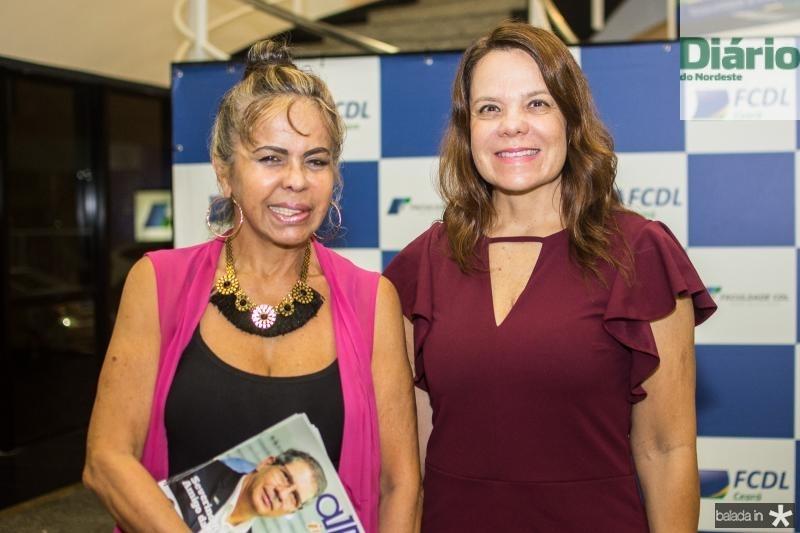 Selma Cabral e Ana Maria Lopes