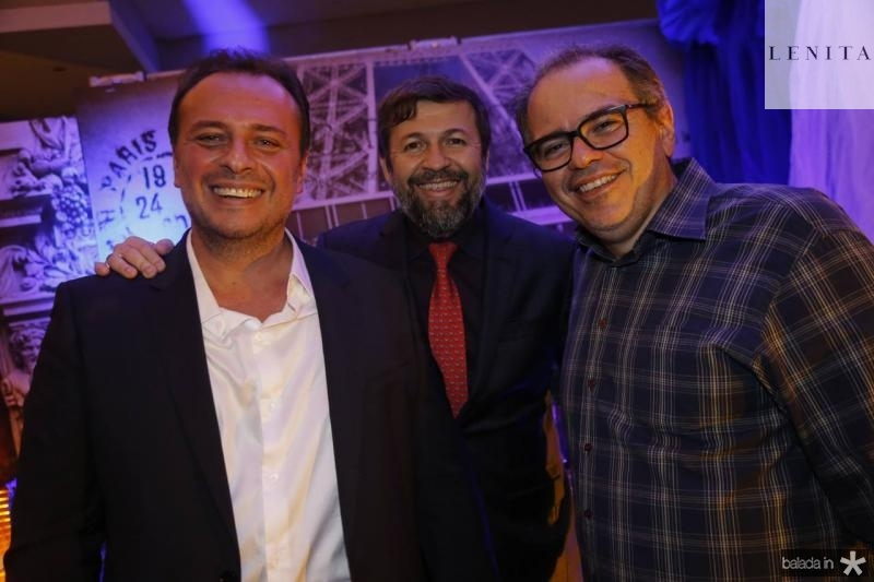Adriano Nogueira, Elcio Batista e Joao Dummar Neto