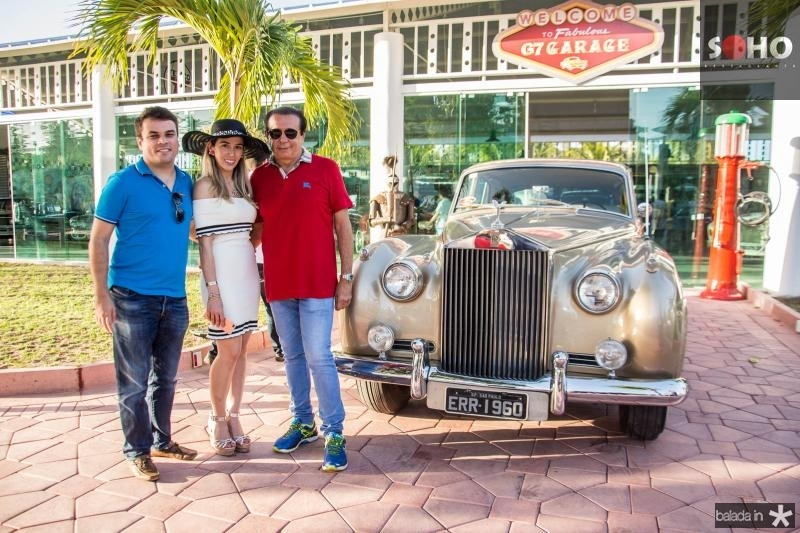 Marcos Freire, Ingrid Lucena e Gaudencio Lucena