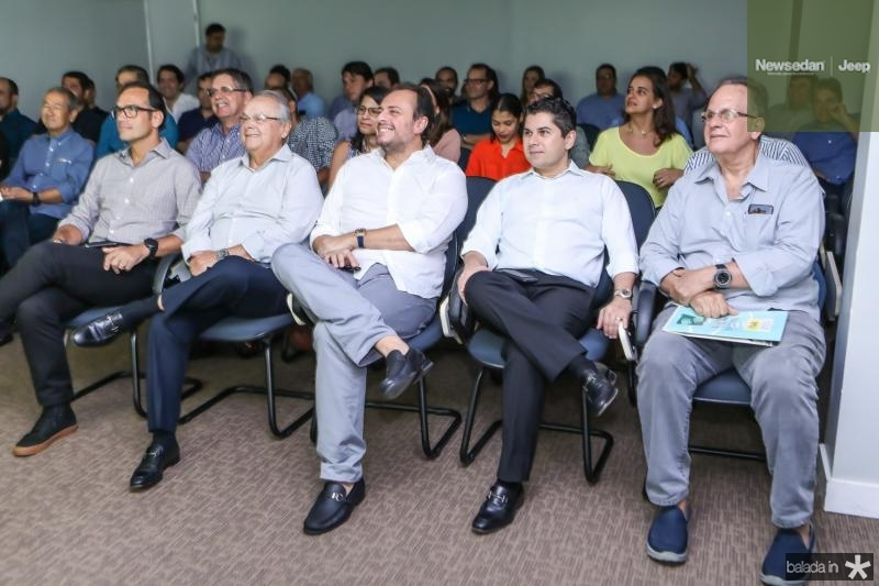 Deda Studart, Helio Galisa, Adriano Nogueira, Pompeu Vasconcelos e Paulo Fiuza