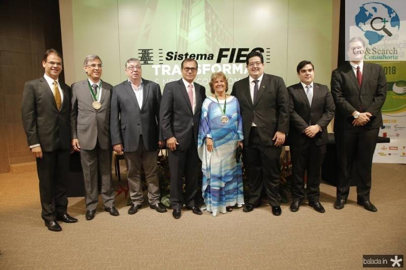 Marcelo Pinheiro, Cid Alves, Maia Junior, Beto Studart, Ana Lucia, Yuri Torquato, Thiago Pinho e Fernando Laureano 1