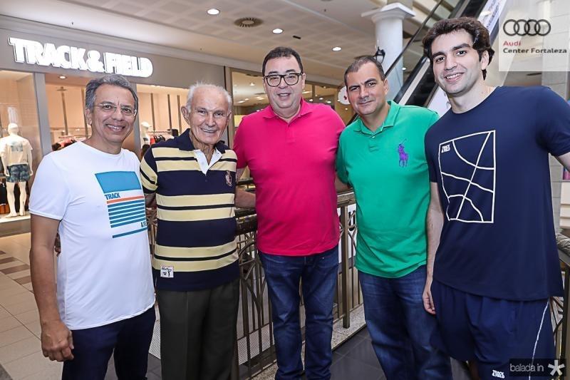Eduardo Rolim, Raimundo Sales, Aristenio Canamary, Alexandre Sales e Rafael Nogueira