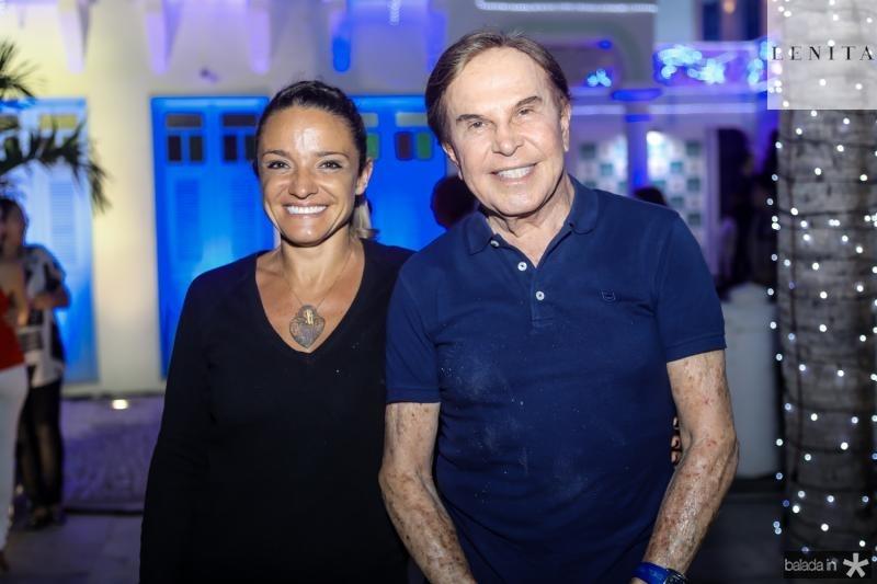 Carla Arruda e Lazaro Medeiros