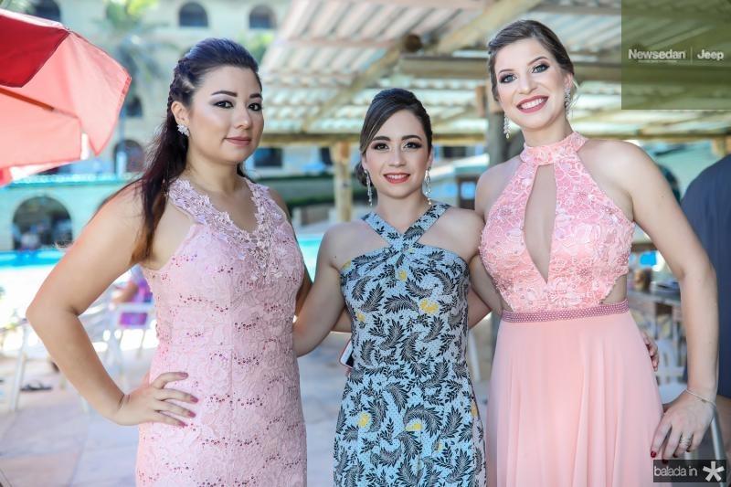 Melissa Vitorasso, Natalia Ferezin e Caroline Vitorasso