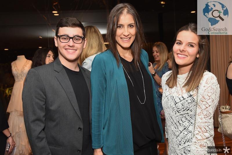Henrique Setti,  Julia Siqueira e Ana Carolina Orsini
