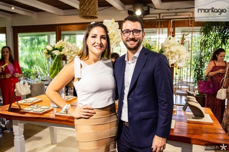 Mariel Pontes e Gabriel Sauer